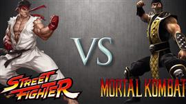 Geek Wars: Street Fighter Vs Mortal Kombat
