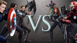 Geek Wars: Team Cap Vs Team Stark